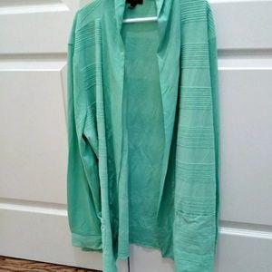 Talbots womans wrap around sweater sz M